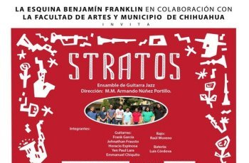 Invitan a concierto de jazz con Stratos Band