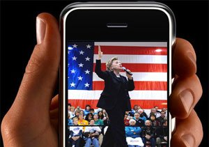 Entre Hillary y el iphone