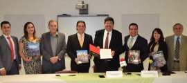 Firman convenio Cenaltec y National Geographic